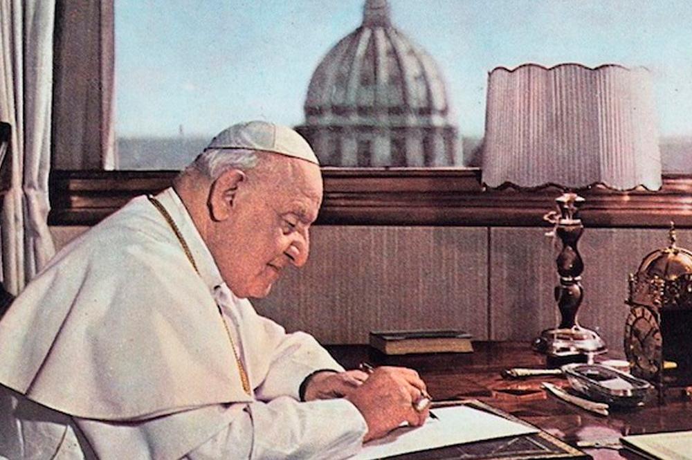 El papa Juan XXIII promulga su última encíclica, llamada 'Pacem in terris'